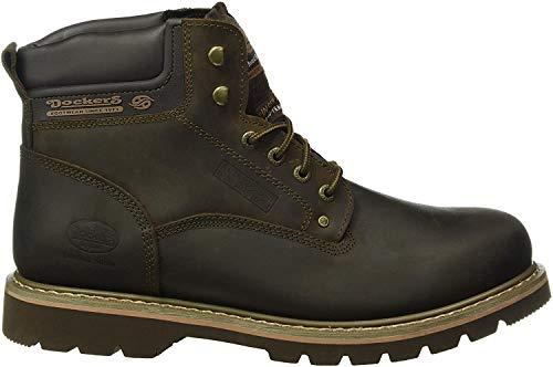 Dockers Herren 23DA004 Combat Boots, Braun (cafe 320), 43 EU