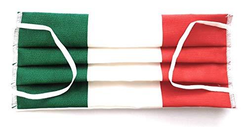 MASCHERINA CON TASCA PER FILTRO ITALIA COTONE 100% LAVABILE MADE IN ITALY CON 50 FILTRI IN TNT 15 GR …