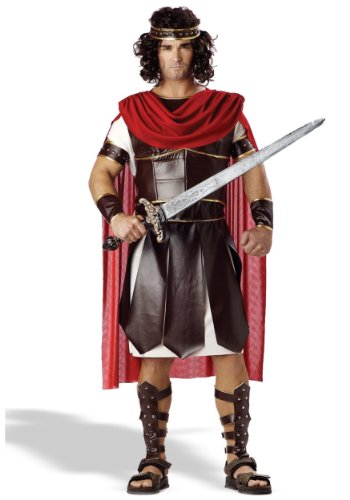 Hercules Roman Greek Demigod Mens Fancy Dress Mythical Costume Adult Outf