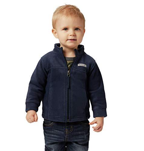 Columbia Boys' Toddler Steens Mt II Fleece Jacket, Collegiate Navy, 2T