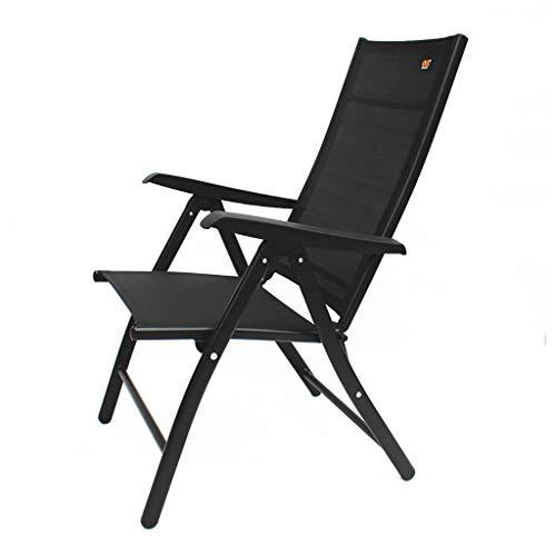 Lw yychair Silla Mecedora, Silla de Oficina de reunión de recepción contemporánea de diseño Negro/Gris (Color : Black)