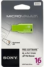 Sony Micro Vault Tiny 16GB USB Pen Drive (Green)
