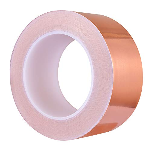 Zalava - Cinta adhesiva de lámina de cobre para blindaje EMI de...