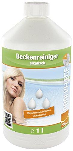 Steinbach Poolchemie Beckenreiniger alkalisch fettlösend, Aquacorrect, 1 l