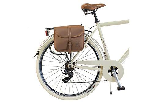 Via Veneto by Canellini Fahrrad Rad Citybike CTB Herren Vintage Retro Via Veneto Alluminium (Beige, 58) - 4