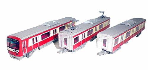 トミーテック 鉄道コレクション 京急新1000形1600番(マイナーチェンジ車) 3両セット