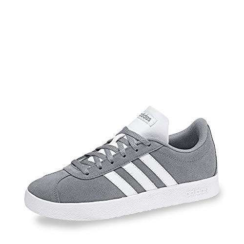 adidas Jungen Unisex-Kinder Vl Court 2.0 K Fitnessschuhe, Grau (Gris 000), 34 EU