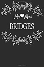 Mr Mrs Bridges: Marriage Journal For Newlywed Young & Old Couples