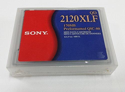 Sony 2120 XLF 170 MB Preformatted QIC-80