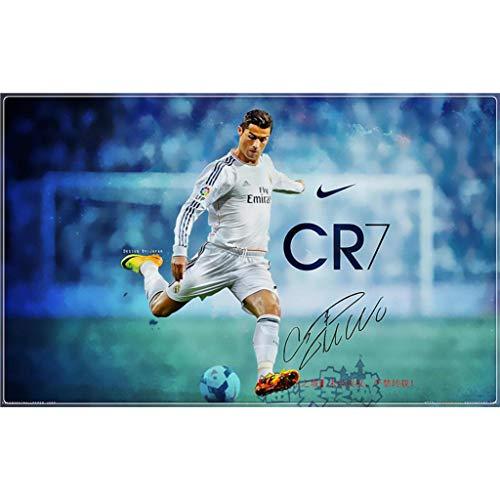 300/500/1000/1500 Piezas de Gama Alta Rompecabezas Super Estrella del fútbol Ronaldo / CR7 Madera Rompecabezas, Juguetes, Decoraciones, coleccionables, los Regalos for los niños/Amigos