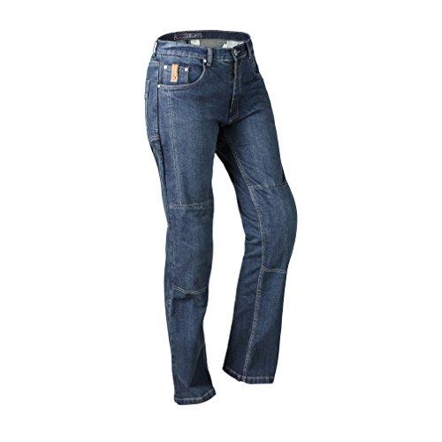 Lookwell Jeans juni dames motorfiets rijbroek Stedelijk Size 28 Donkerblauw