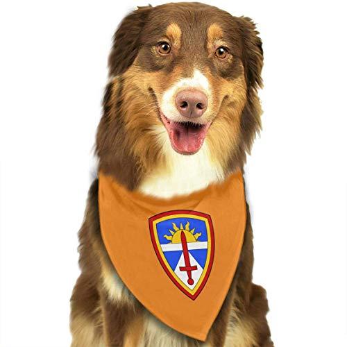 N/A USA Armee \'s Test und Bewertung Hund Katze Bandanas-1pc waschbar Dreieck Lätzchen Halstücher Schal Halstuch Unique Style