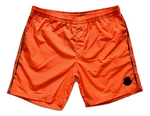 Moncler Badehose Boxer Kinder Junior E1 954 0074305 53326 orange, Orange 14 Jahre