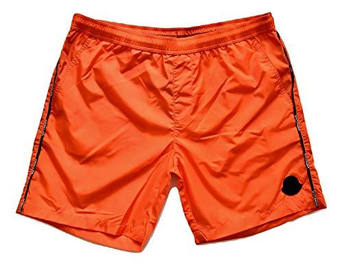 Moncler Badehose Boxer Kinder Junior E1 954 0074305 53326 orange, Orange 12 Jahre
