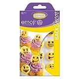 BackDecor 15 Zucker Emoji gelb aus Zucker mir emoji Aufdruck