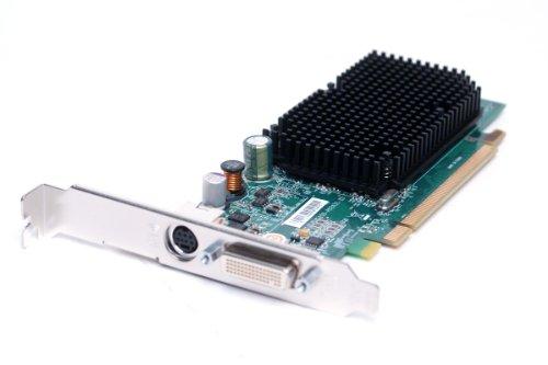 Genuine Dell K922J, GJ501 ATI Radeon X1300 256MB DMS59 DVI PCI-E Express x16 S-Video High-Profile Video Graphics Card Compatible Part Numbers: K922J, GJ501, 102A9240521 Compatible Model Numbers: ATI-102-A924 B