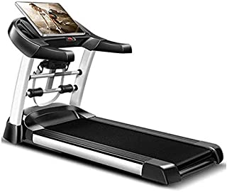 $199 » Sponsored Ad - Smart Treadmill with Auto Incline, Speakers, Bluetooth, LCD and Pulse Monitor, Phone Function, 240 LB Max W...