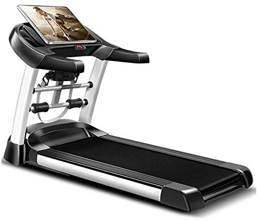 Smart Treadmill with Auto Incline, Speakers, Bluetooth, LCD and Pulse Monitor, Phone Function, 240 LB Max Weight