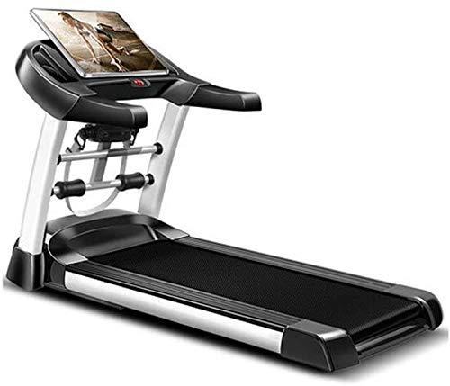 Tapis de course pliable, machine de marche sans installation d'équipement de fitness, 180 degrés plié en deux, rangement droit, forme intelligente, multi scènes
