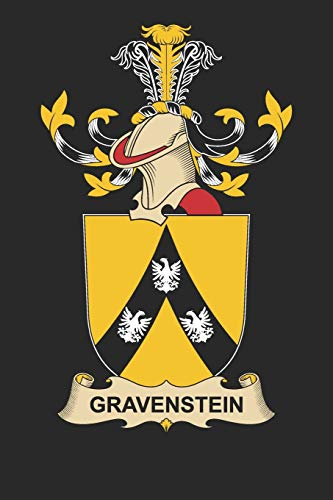 Gravenstein: Gravenstein Coat of Arms and Family Crest Notebook Journal (6 x 9 - 100 pages)