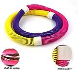 Swing around Hula Hoop, de Deporte y Fitness Anillo Adulto Constitución de Hula del Resorte del aro de plástico Blando de Primavera para Adultos aro de Hula