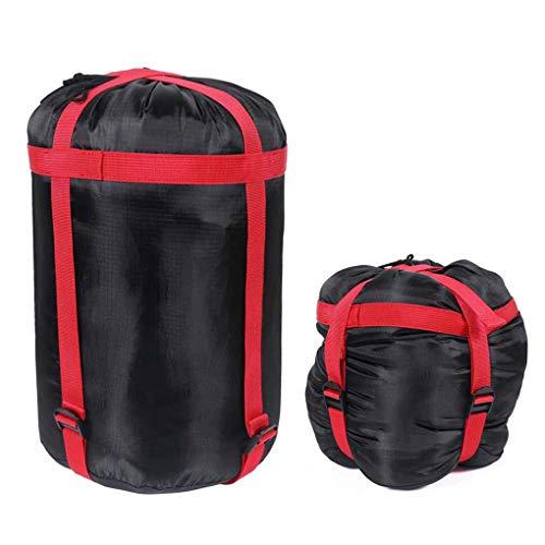 Saco de dormir ligero de compresión de Jiahg, funda impermeable para saco de dormir, ropa, viajes, camping, exteriores