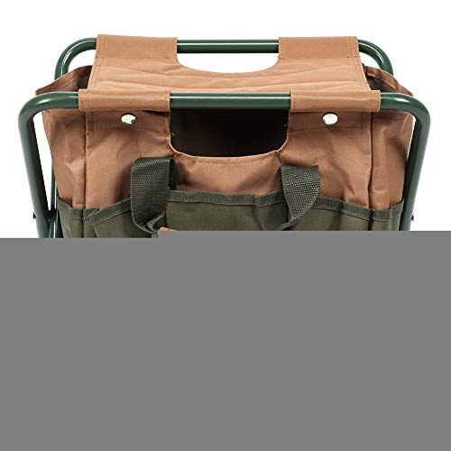 Taburete para acampar, silla plegable fácil de llevar, hierro de alta calidad y material de tela Oxford 600D, desmontable, acampar, patio, barbacoa, jardín, picnic en casa para patio