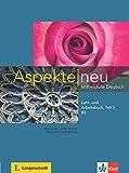 Aspekte neu b2, libro del alumno y libro de ejercicios, parte 2 + cd: Lehr- und Arbeitsbuch B2 Teil 2 mit CD