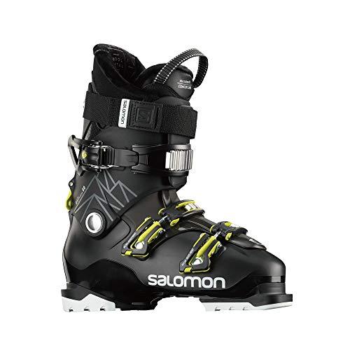 SALOMON Botas Alpinas QST Access 80, esquí Hombre, Black/Beluga, 47/48 EU