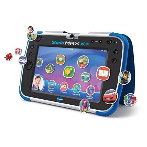VTech – Tablet Storio Max XL 2 blau – 7 Zoll Kinder-Tablet 1{d7e57e756e95266ccbd4db7759e62e72901b9d300e7e73f3d5d3d8f985fbeedc} Lernfunktion – französische Version