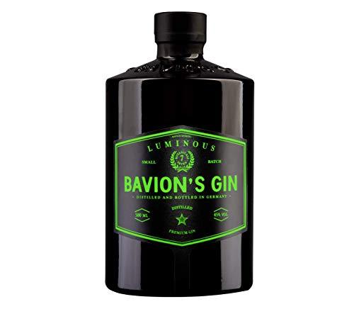 Bavion's Luminous Gin   Distilled premium Gin in leuchtender Flasche (1 x 0.5l)