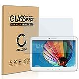 CELLONIC Cristal protector de la pantalla compatible con Samsung Galaxy Tab 3 10.1 (GT-P5200/GT-P5210/GT-P5220) (2.5D, 0.33mm, 9H, Alta Transparencia) - Vidrio Templado Blindado Protector de pantalla