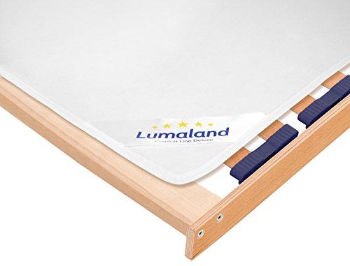 Lumaland Filzschoner für Lattenrost Matratzenunterlage Matratzenschoner 200 x 200 cm