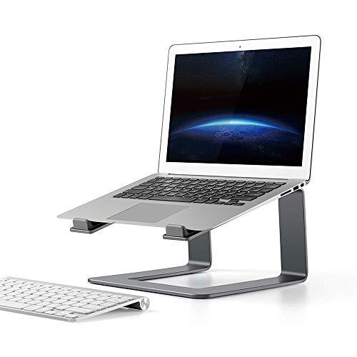 Kimmyer - Soporte para Ordenador portátil MacBook Pro de 10 a 15,6 Pulgadas (Aluminio, MacBook Air y más)