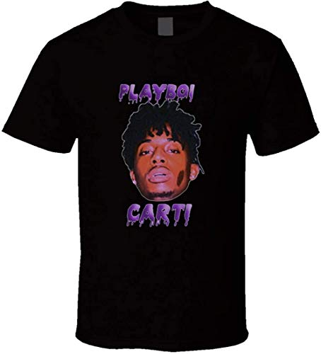 Playboi Carti Awge T-Shirt,Black,Large