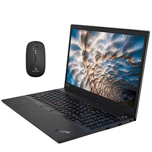 2020 Lenovo ThinkPad E15 15.6 Inch FHD 1080P Laptop| Intel 4-Core i5-10210U (Beats i7-7500U)| 16GB RAM| 512GB PCIE SSD| FP Reader| Win10 Pro + NexiGo Wireless Mouse Bundle