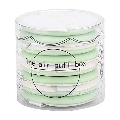 Pur coton Puff Puff Air Coussin Puff Powder for Bb Cream Beauty Makeup Sponge Puff 8pcs