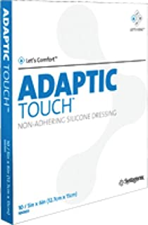 Systagenix Adaptic Touch Non-Adhering Silicone Dressing - 3 x 4.25 Inch