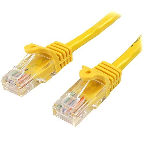 StarTech.com 45PAT1MYL - Cable de Red Fast Ethernet Cat5e RJ45 sin Enganche,...