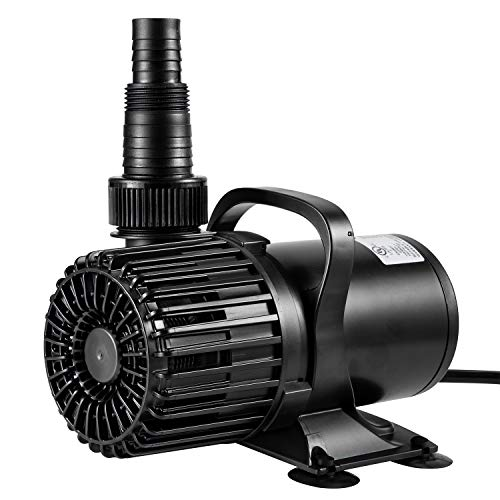 VIVOSUN 2600 GPH Submersible Water Pump 120W Ultra Quiet Pump with 20.3ft Power Cord High Lift for Pond Waterfall Fish Tank Statuary Hydroponic