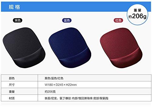 サンワサプライ『低反発リストレスト付きマウスパッド(ブラック)MPD-MU1NBK』