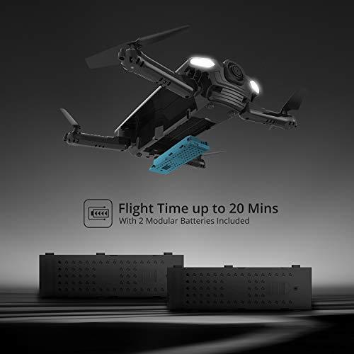 Drone pliable Holy Stone HS160 avec Caméra HD 720P WiFi FPV Vidéo en Temps réel - 6
