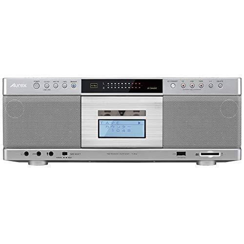 東芝 ハイレゾ対応SD/USB/CDラジカセTOSHIBA Aurex TY-AK2