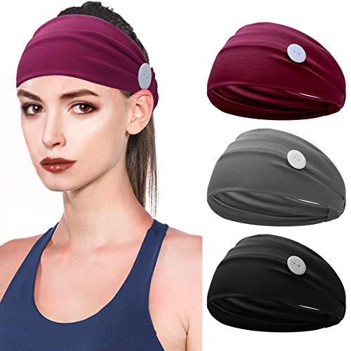 Elastic Head Wrap Hair Band With Button Now $9.34