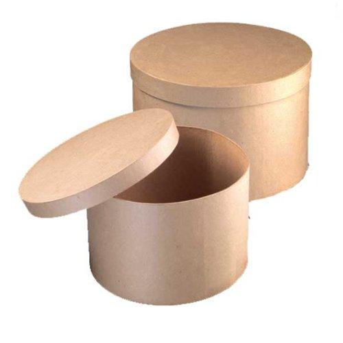 Set Boxen Hutschachteln PappArt 34,5 x 21 / 38 x 22,5 cm 2-teilig