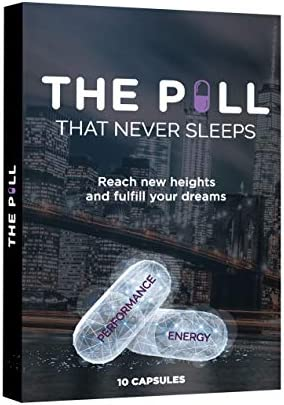 THE PILL That Never Sleeps Fast Acting Male Amplifier for Strength Performance Energy and Endurance product image