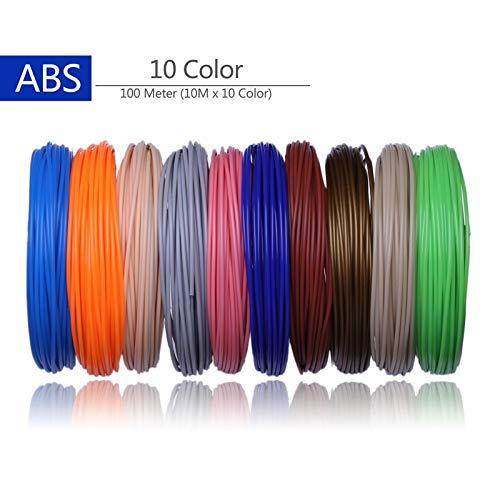 Shi-y-m-3d, Impresora 3D Filamentos 200 Metros 20 Colores ...