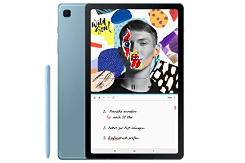 Samsung Galaxy Tab S6 Lite, Tablet inklusive S Pen, 64 GB interner Speicher, 4 GB RAM, Android, WiFi, Angora blue