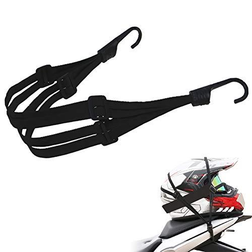 Spanngurt Fahrrad, Spanngurt Gepäckträger, Spanngurte Motorrad Gepäck, Elastische Gepäckgurt Spannseile mit Haken Verstellbarer Gepäckspanner Gepäckträger Fahrradgurt für Motorradhelm, Fahrradgepäck
