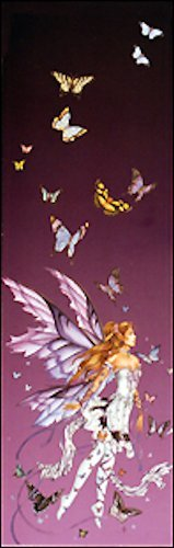 Nene Thomas Bookmark Fairy Faery Lavender Serenade